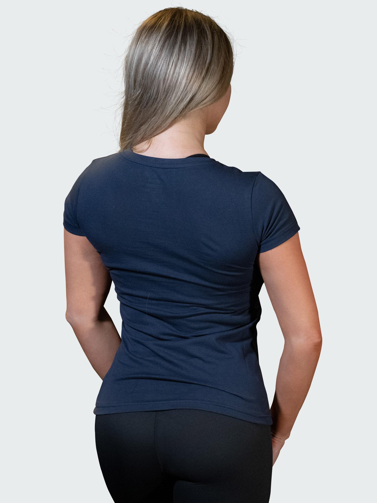 T-Shirt Logo Womens Navy Blue