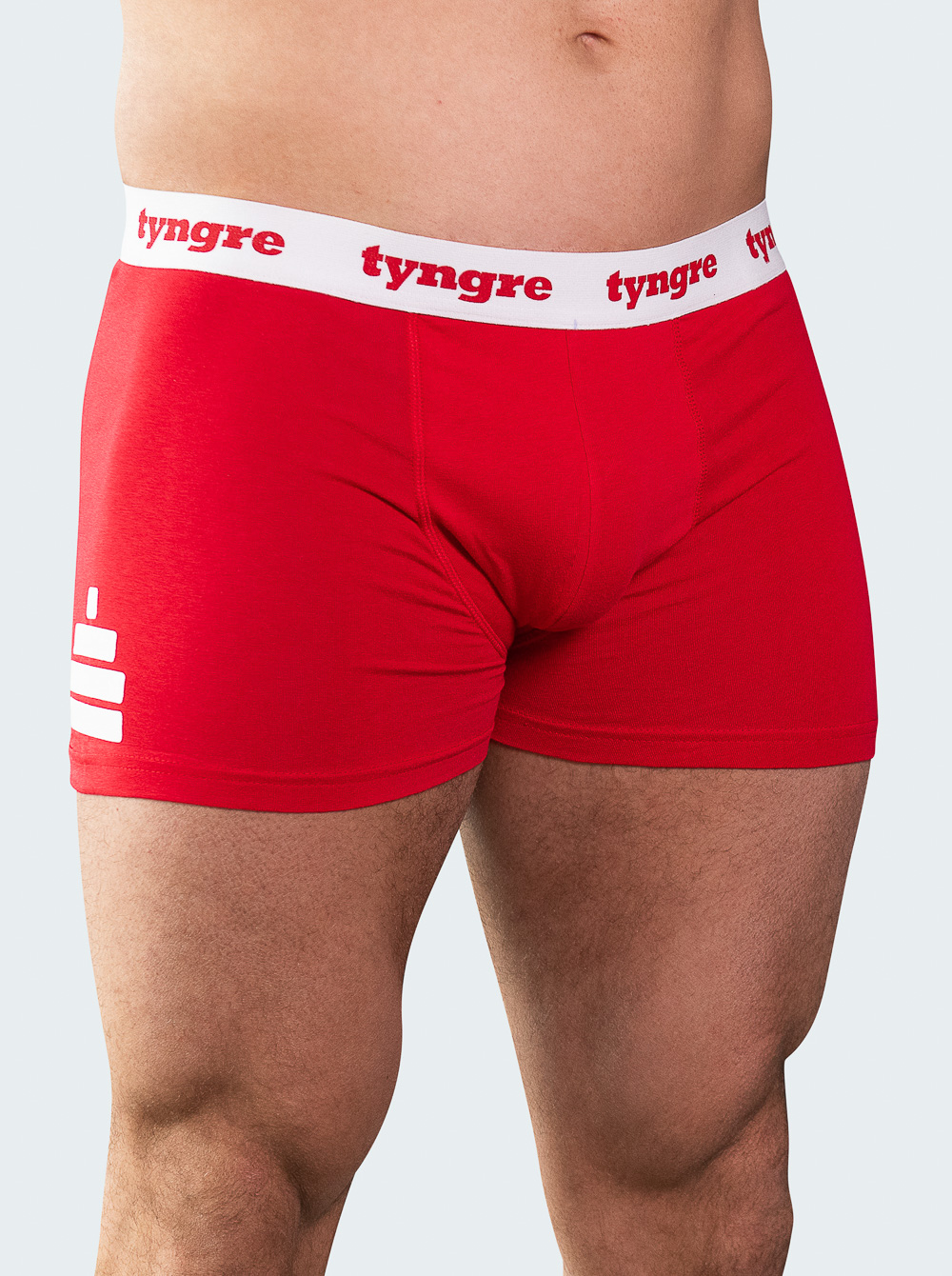 Boxers Mens Red