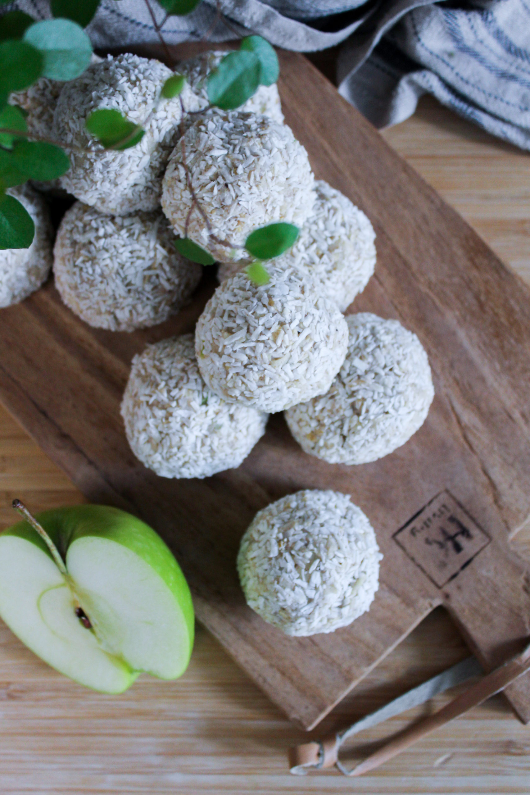 Proteinbollar äpple