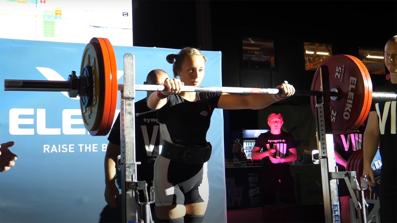 Sophia Granstad inför VM i klassisk styrkelyft