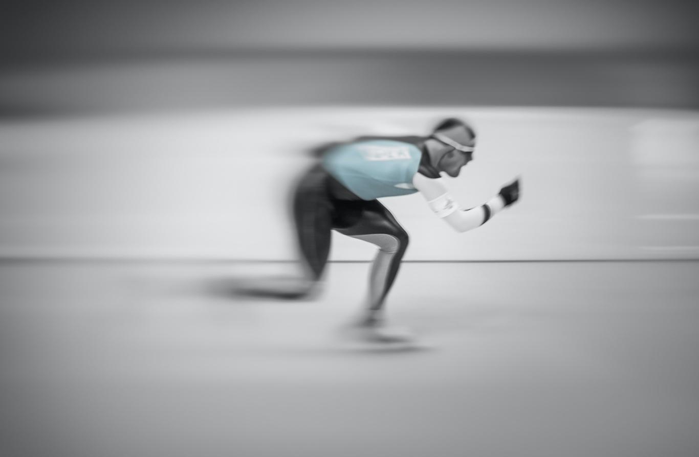 Djupgående om skridskosporten och träning av en världsmästare