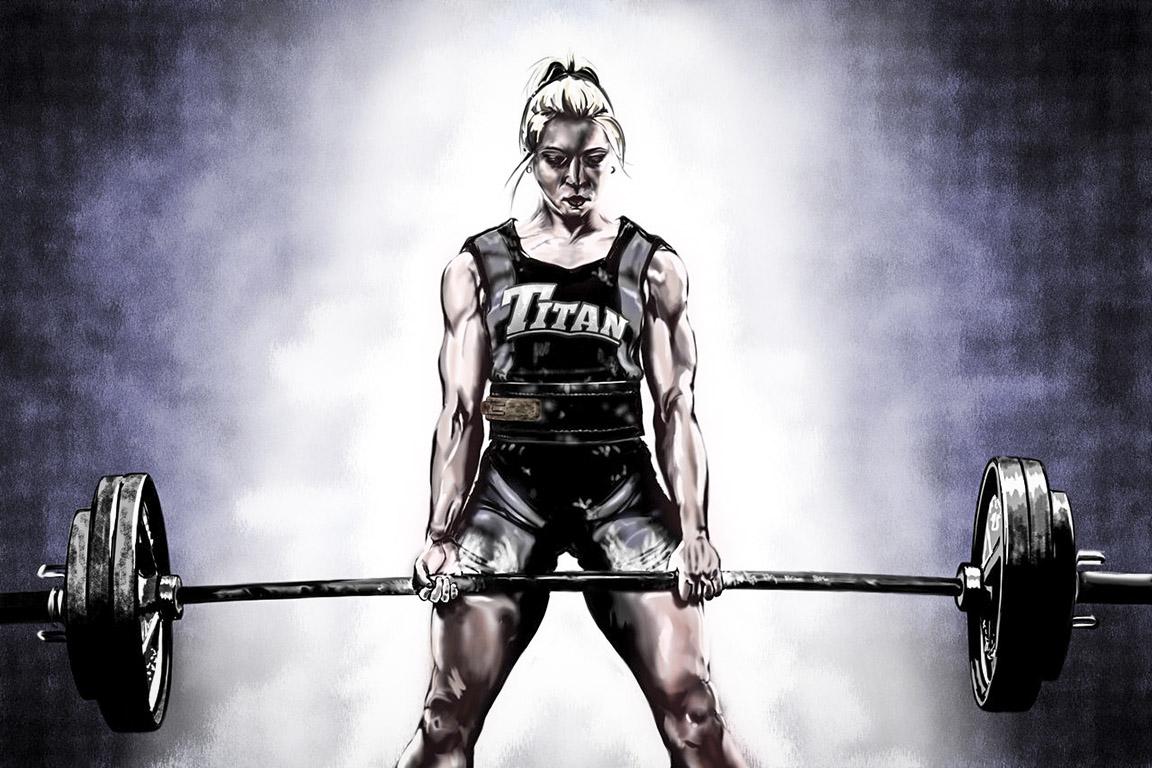 Att vara stark är kvinnligt!