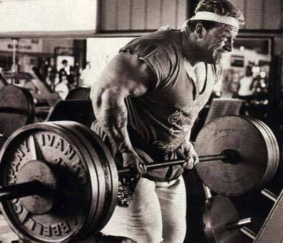 Dorian Yates tar träningsintensitet till en ny nivå.