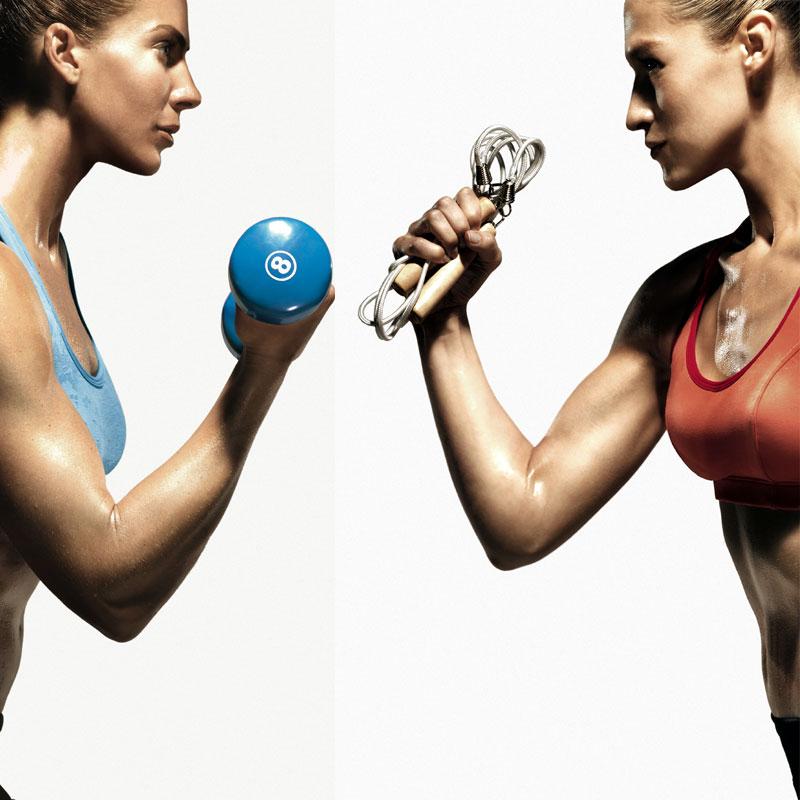 Att kombinera styrka och kondition