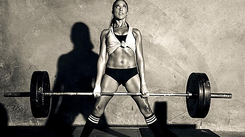 Det här med gymtränande tjejer