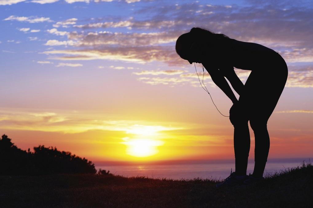 Blir du svagare i biceps när du är trött i benen?