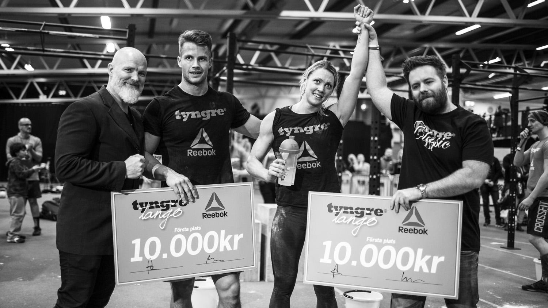 Frändén & Elebro vann Tyngre Tango!